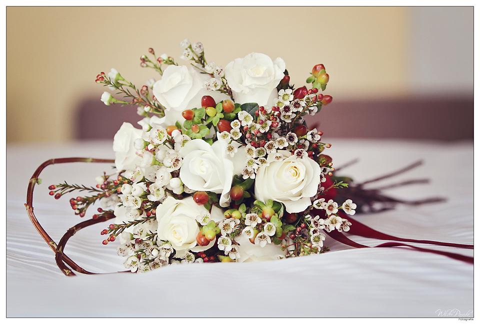 elegante bouquet de la novia