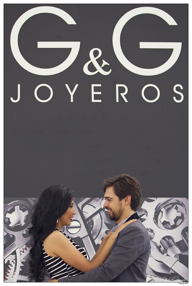 G y G joyeros cayeron justo como anillo a l dedo ya que los nombres de la romantica pareja son Gonzalo y Grethel. Cuando hay amor el universo conspira G & G